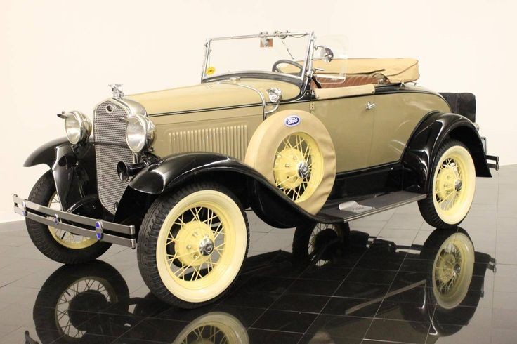 1931 Ford Modell A 40B Deluxe Roadster -