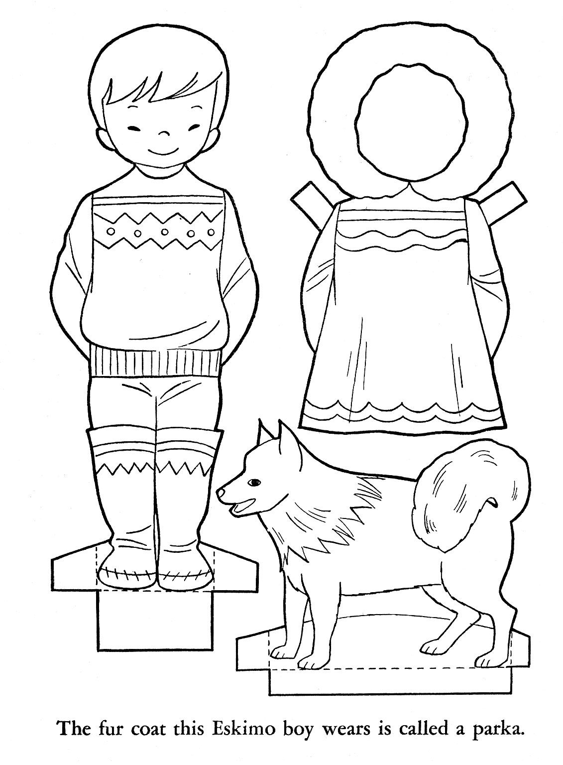 Super Cute Paper Dolls From Different Countries Links To More Countries On The Site Children