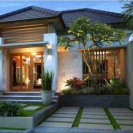 desain rumah mewah 1 lantai | rumah mewah, home fashion