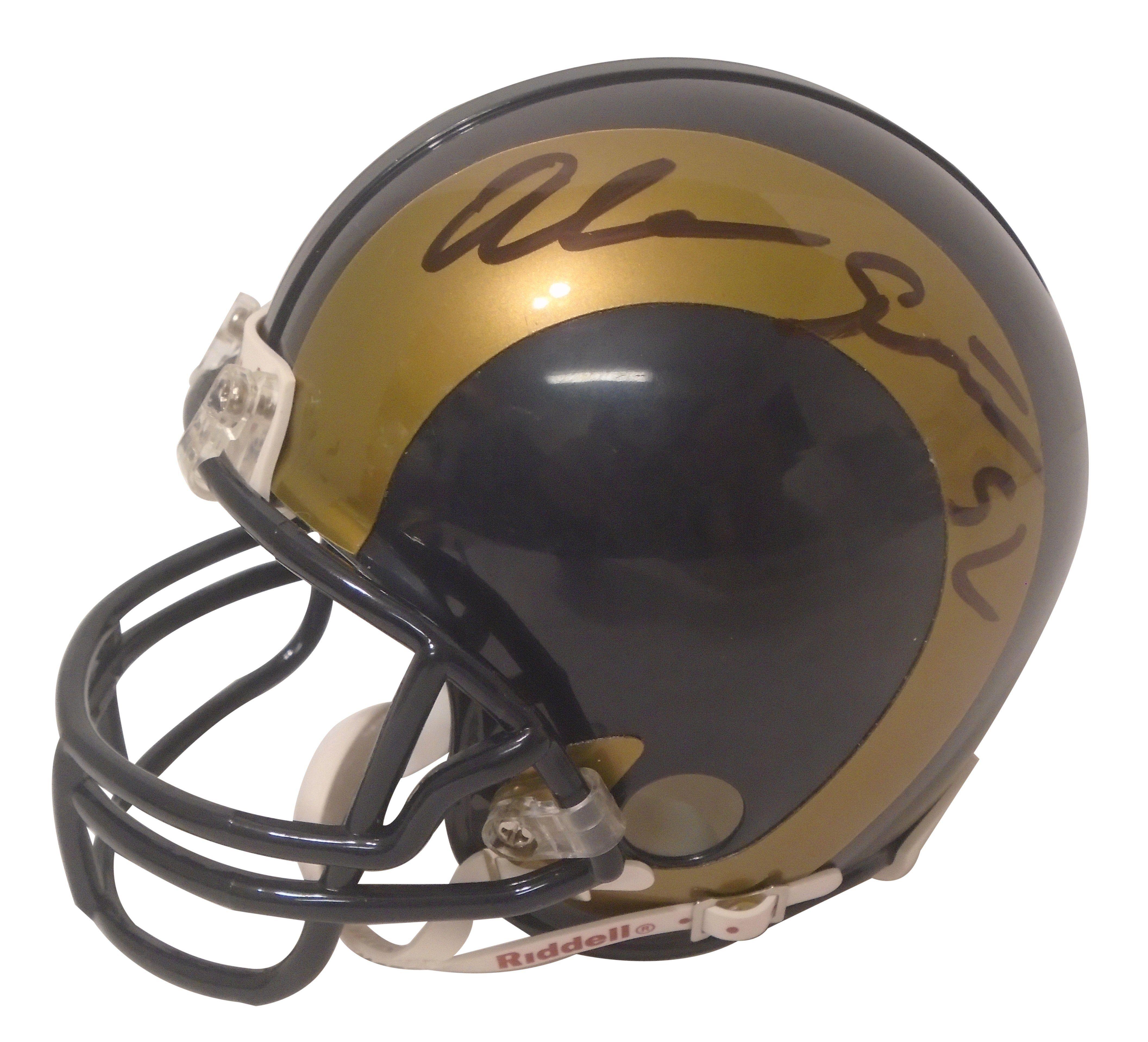Alec Ogletree Autographed Los Angeles Rams Logo Riddell