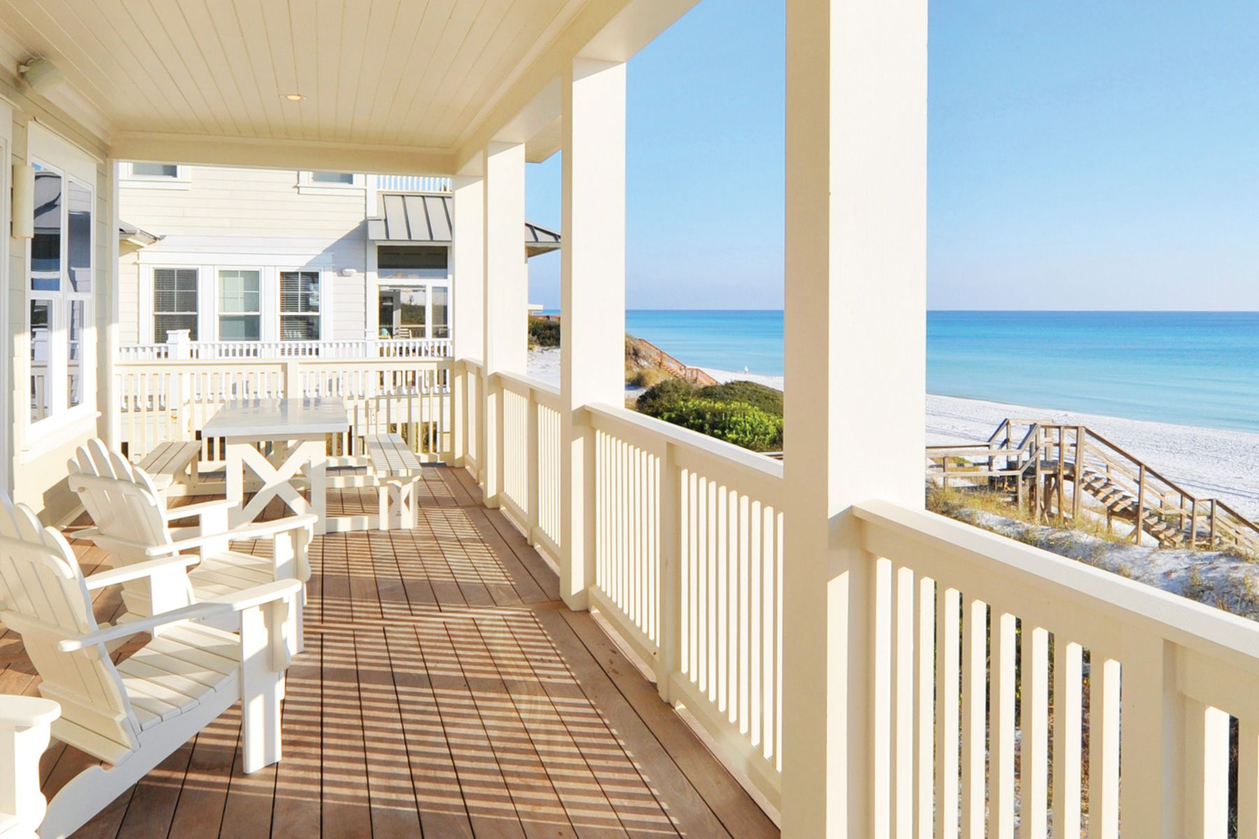 Sit back and enjoy the day at a South Walton Beach house. #Florida #WyndhamVacationRentals
