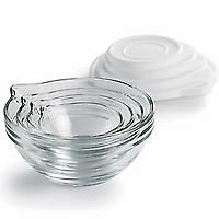 Pampered Chef Pinch Bowl Set — Prep both dry and liquid ingredients ...