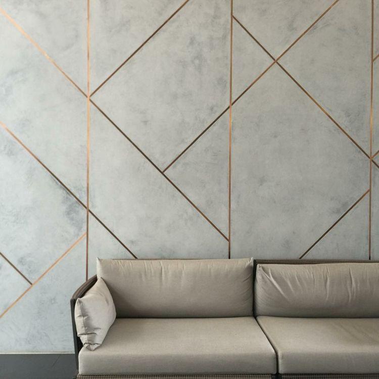 Fliesen Glitzer Fugen Metallic Abstrakt Hellgrau Stein Wohnzimmer Innenwande Moderne Inneneinrichtung Moderne Einrichtung