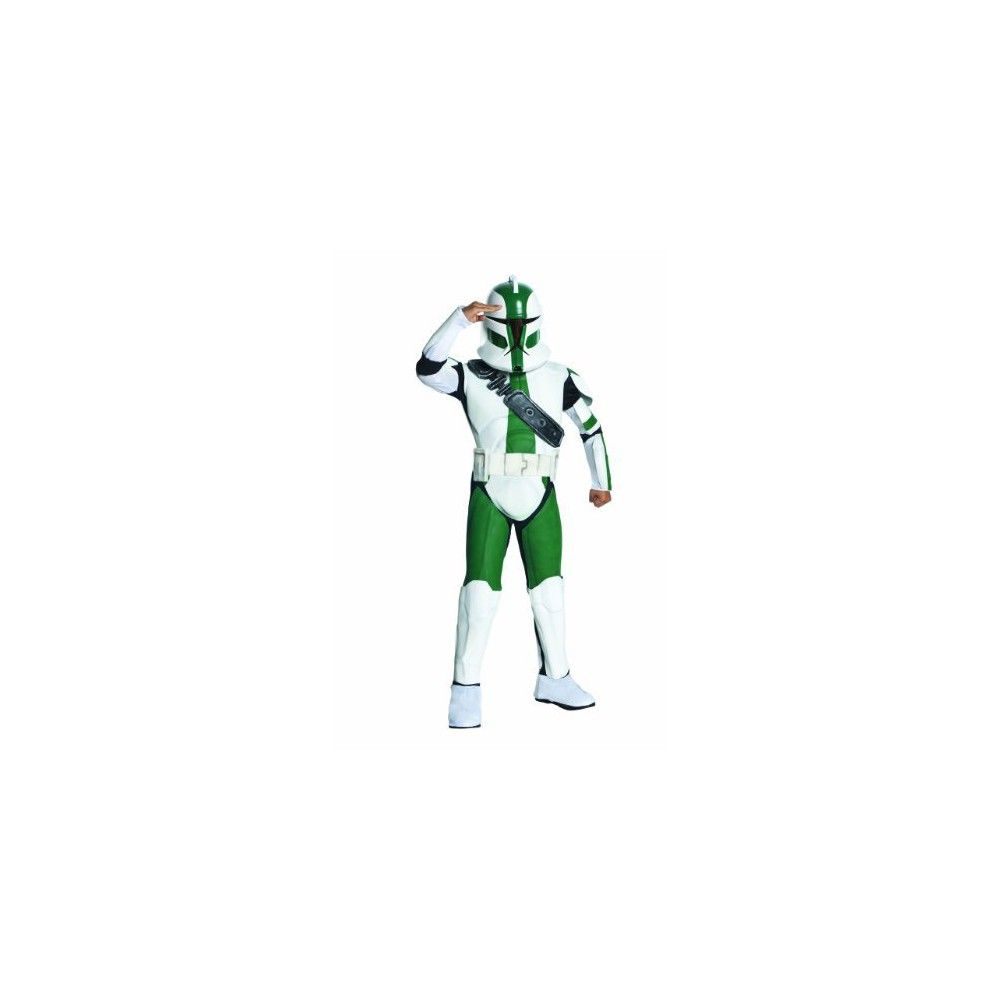Star Wars Clone Kids' Trooper Commander Costume Large (12-14) -, Kids Unisex, Variation Parent