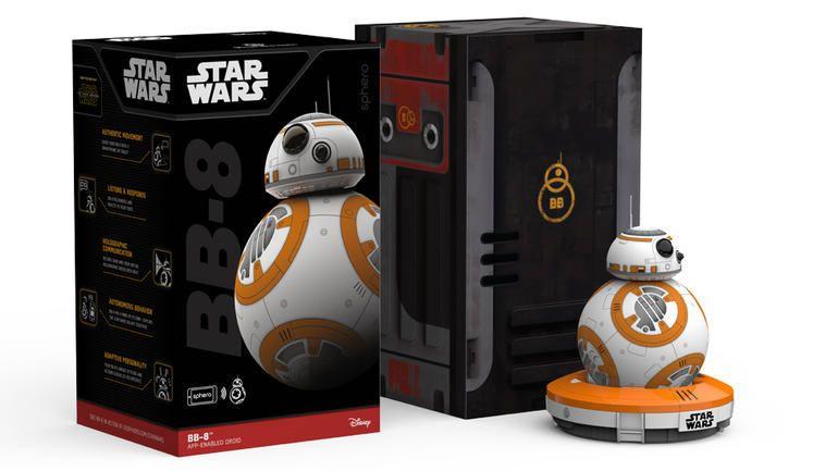 Sphero BB-8 Star Wars toy 3 #Sphero #bb-8 #SpheroBB-8 #starwars #regalos #2015 #trends #original #regalos #originales #geek http://miguelo.com/