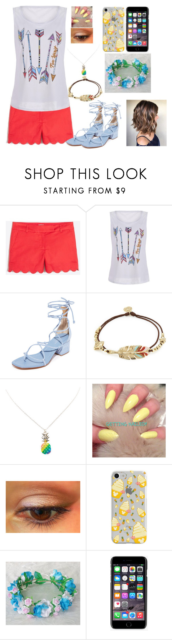 """""""It's Summer Time!"""" by kiara-fleming ❤ liked on Polyvore featuring J.Crew, Michael Kors, Gas Bijoux, Disney and Dolce&Gabbana"""
