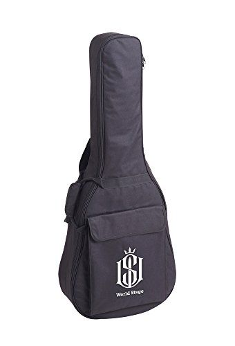 World Stage Ws171001 Acoustic Guitar Gig Bag You Can Get More Details By Clicking On The Image Note It Is Affiliate Link T Guitar Bag Acoustic Guitar Guitar