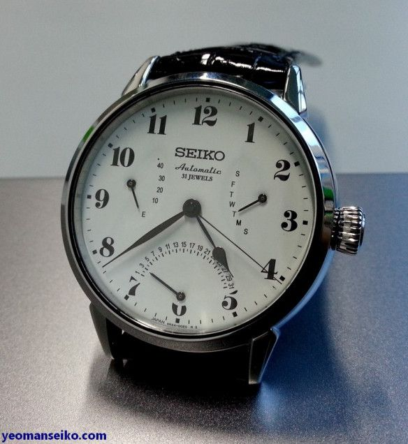 Finally saw the new JDM Seiko Presage with enamel dial at Big Time last Saturday. Two of these models were released, namely the SARX027 with 6R15 movement and the SARD007 with 6R24 double retrograd…