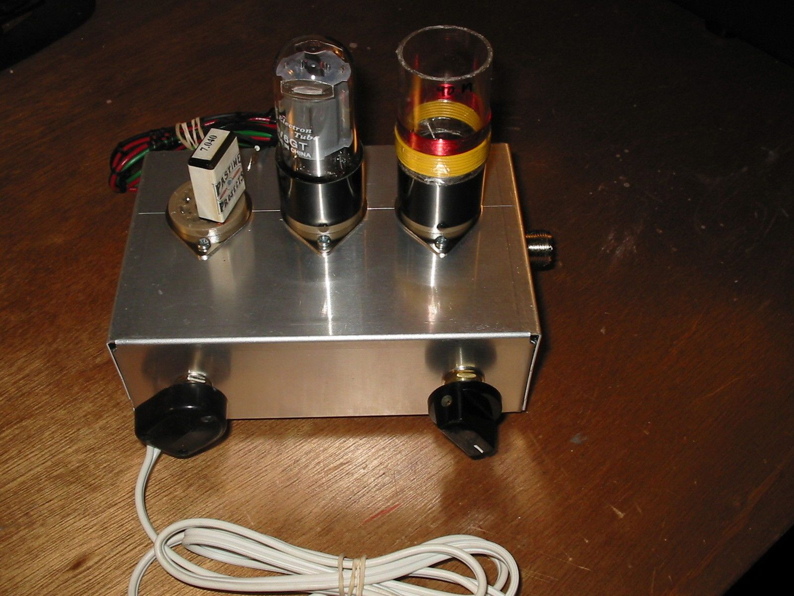 Pastime Projects New 6v6 6l6 Mc 40 Hf 1960 S Style Ham Radio Cw Transmitter Kit Ham Radio Radio Transmitter