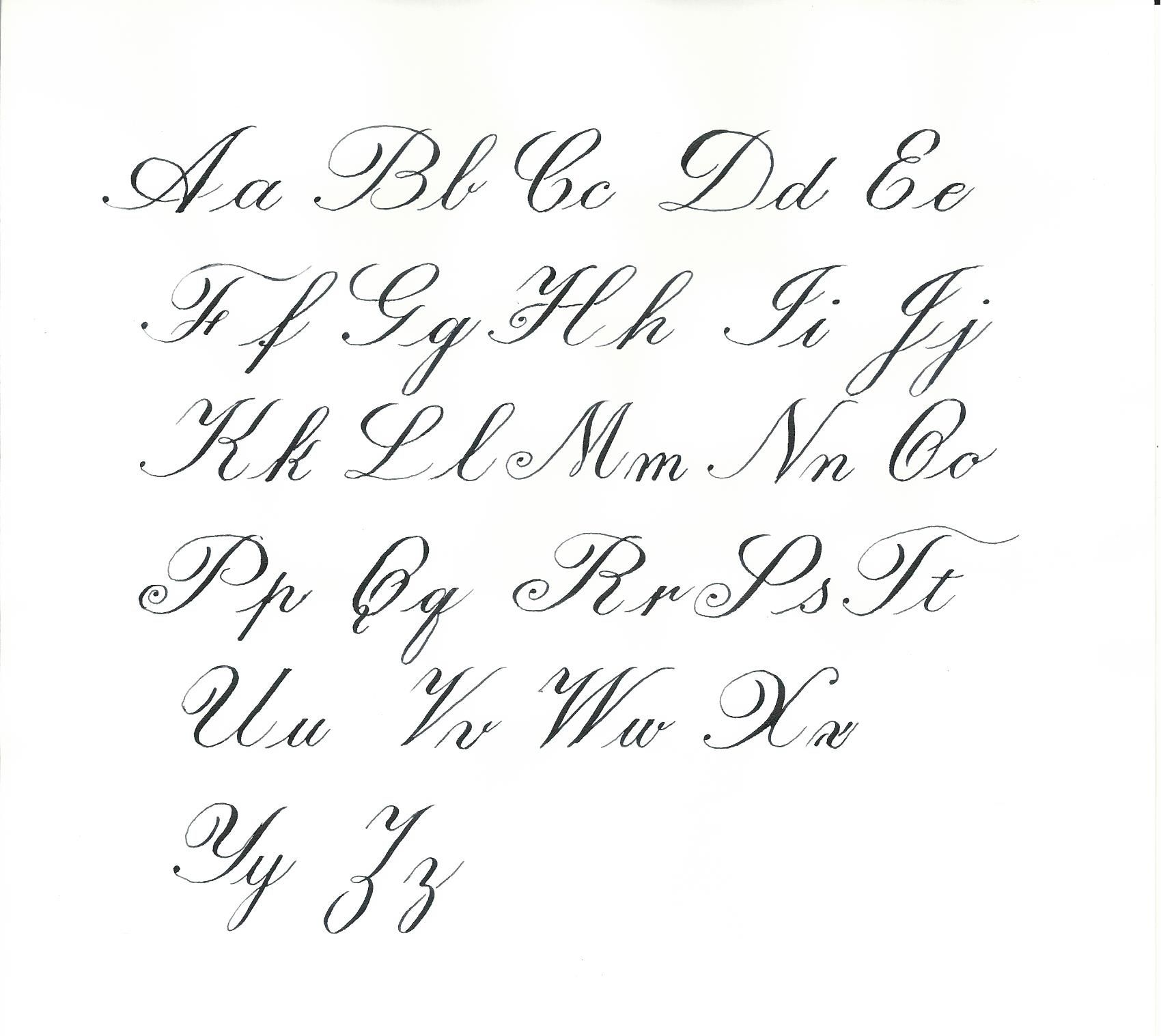 copperplate capital z - Google Search | pictures | Pinterest ...