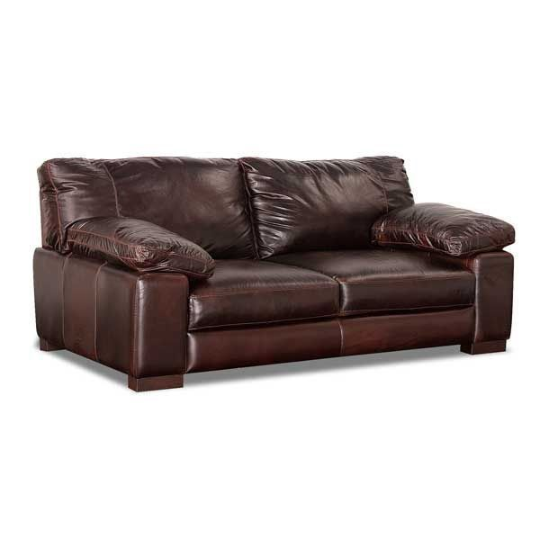 American Furniture Warehouse Online Shopping: Barcelona All Leather Loveseat By Soft Line Is Now