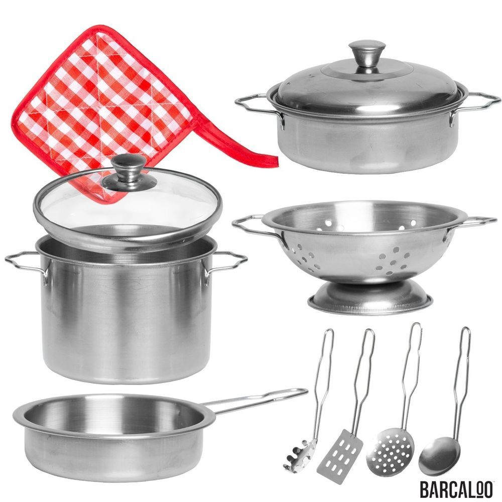 Play Pots and Pans Set for Kids - Pretend Cooking Toys for ...