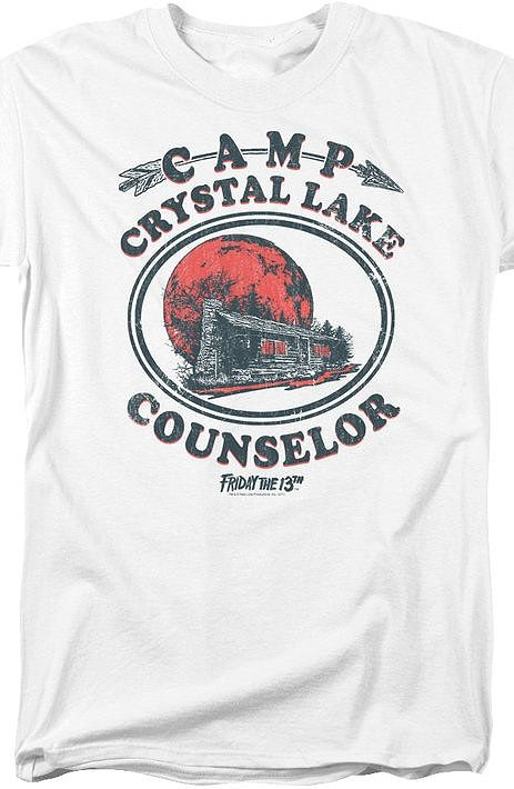 547fbacfcfb3 Camp Crystal Lake Counselor Friday the 13th Geeks  Enjoy the comfort of  home or travel the great outdoors in this men s style shirt that has been  designed ...