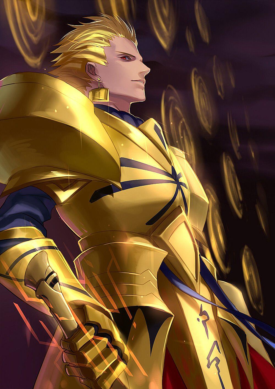 Fate Stay Night Archer Gilgamesh Fate Zero Gilgamesh Fate