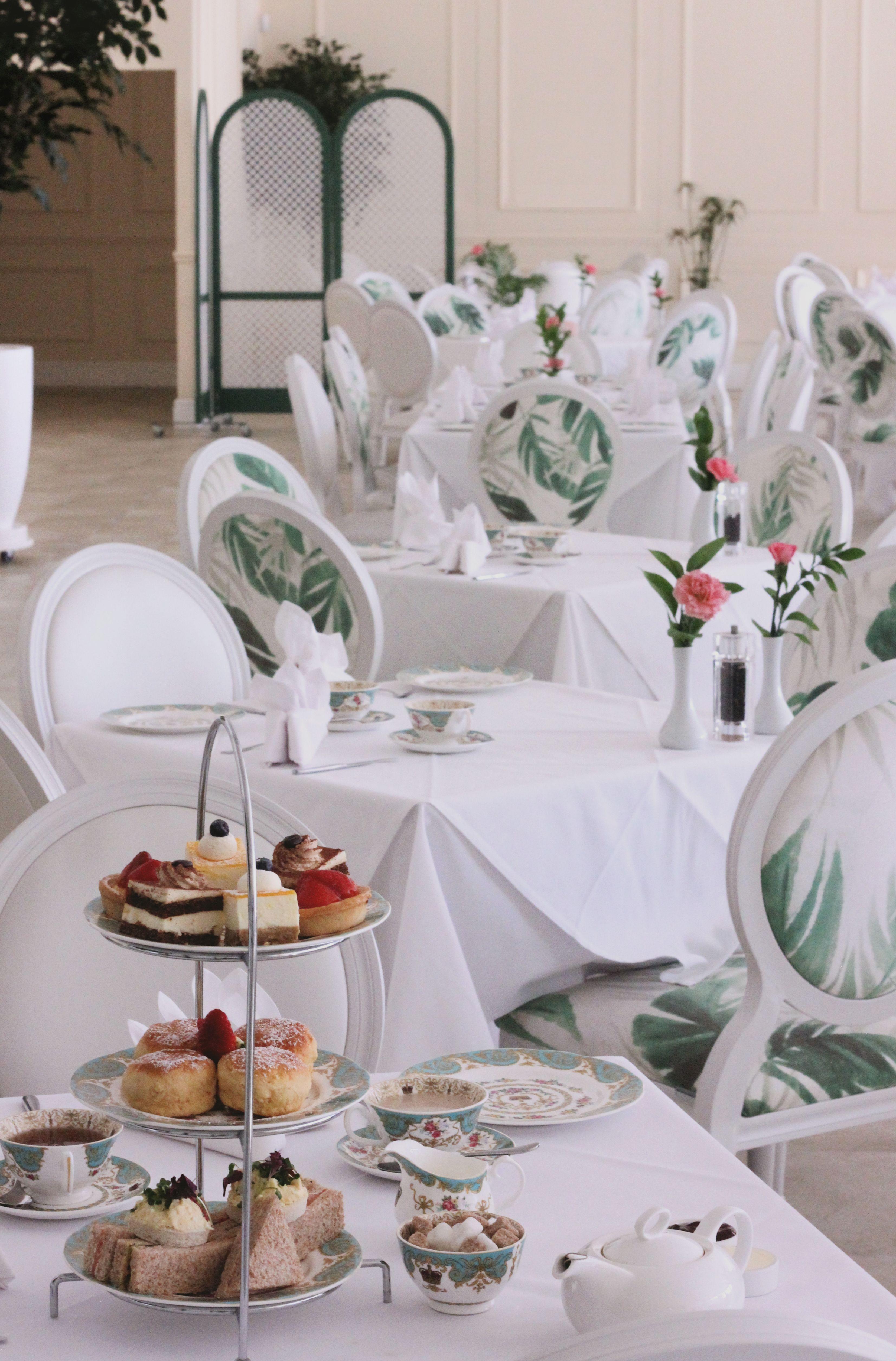 Interior Design For The Tea Room Pavilion At Kensington Palace