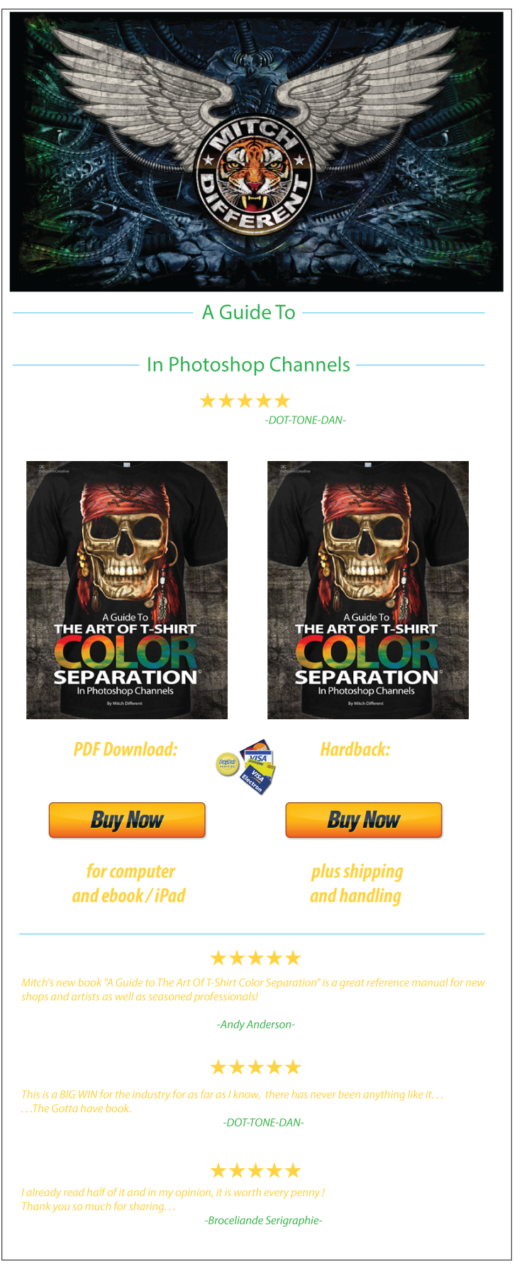 The Art Of T Shirt Color Separation Pdf Colorful Shirts T Shirt Screen Printing