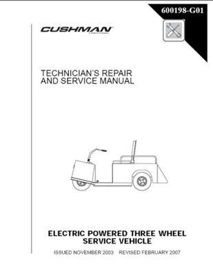 EZGO 600198G01 2004 2008 Technician S Repair And Service