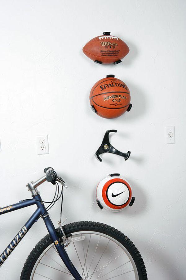 Rangement pour ballons idées garage Pinterest Kids rooms