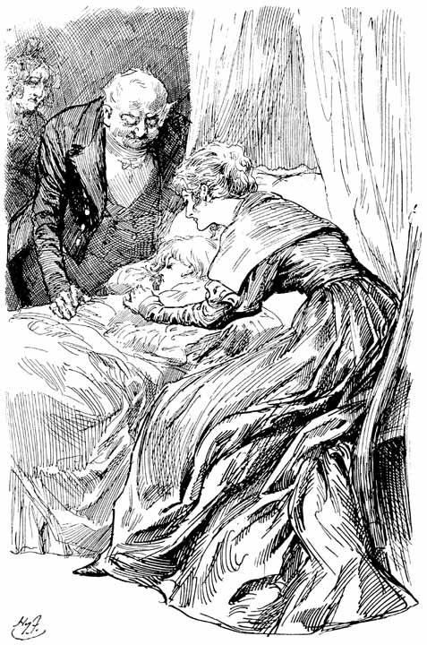 Birth of Oliver Twist where he is very sick and his mother dies