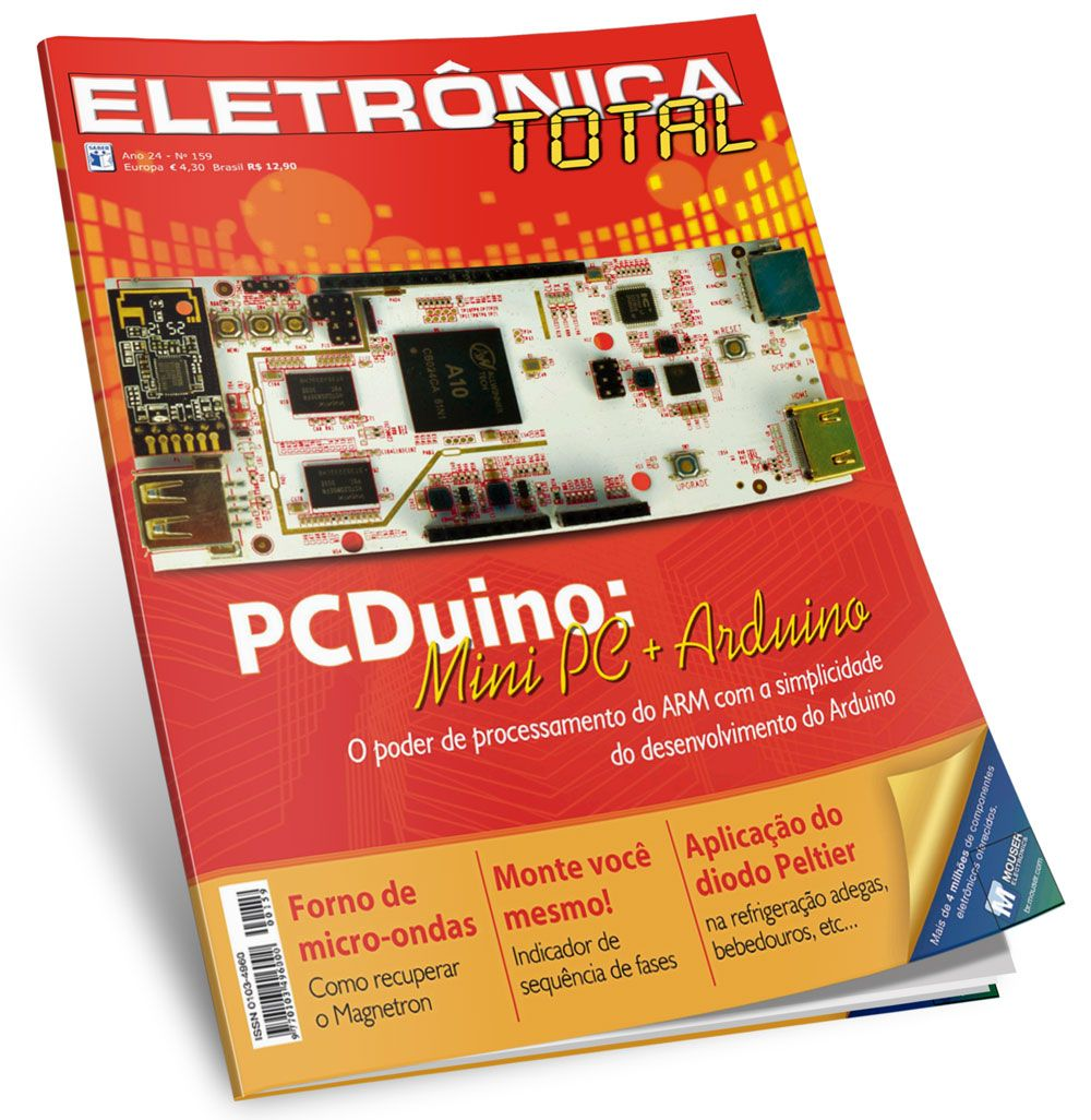 Download Revista Eletrnica Total 159 Em Pdf Eletronic Pinterest Segue Abaixo O Desenho Do Circuito Se Voc Quiser Montar Seu