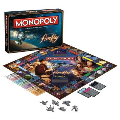 USAopoly Monopoly - Firefly Edition Game