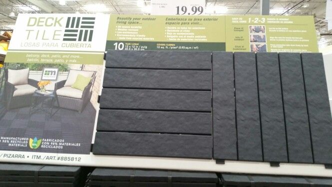 Costco Deck Tile