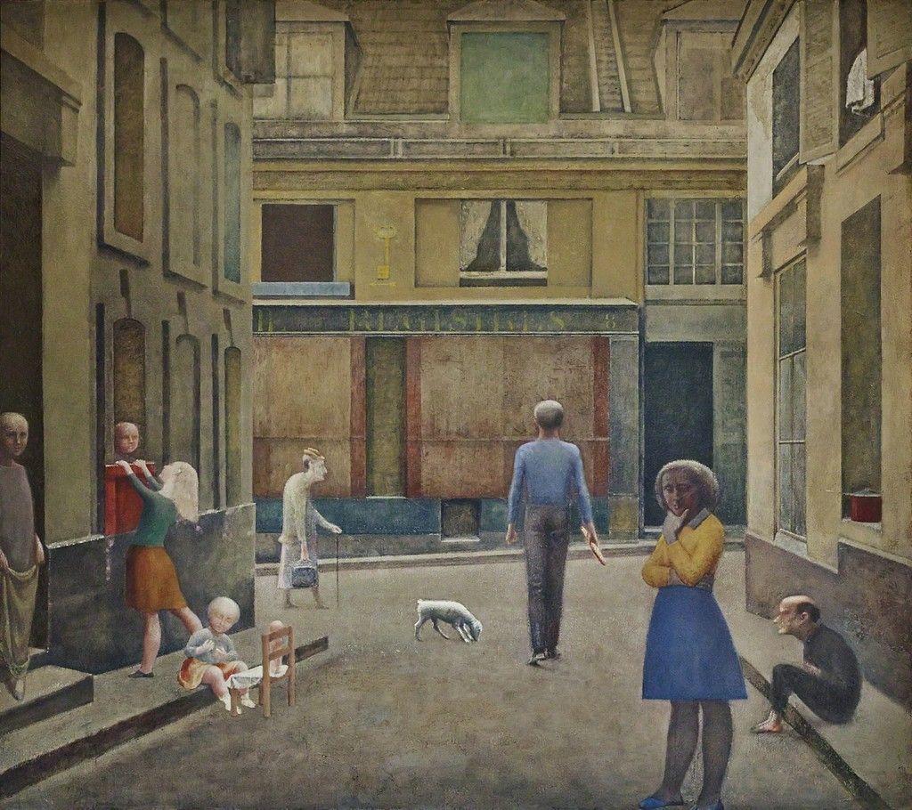 Balthus Passage Du Commerce-saint-andr 1952-1954