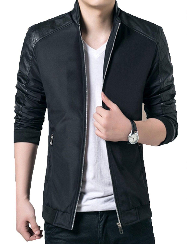 Men S Lightweight Casual Wear Outdoor Windbreaker Jackets Black Cw189u27rhx Jackets Men Fashion Mens Spring Jackets Mens Jackets Casual [ 1500 x 1150 Pixel ]