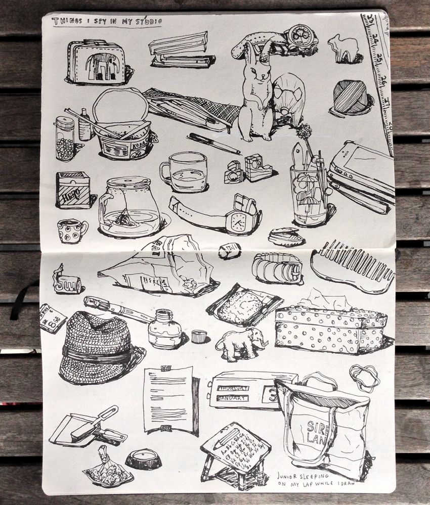 Objects in studio www.messymsxi.com