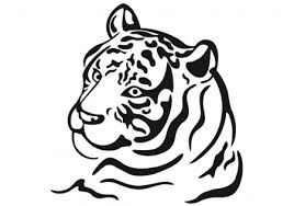bildergebnis für tigerkopf ausmalen vorlage | tiger tätowierung, tattoo designs und tattoo
