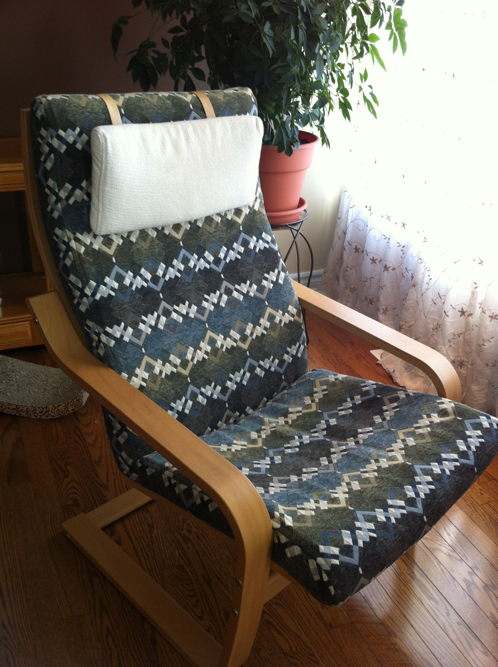 Poang Chair Cushion Replacement High Rocking Horse Desk Plans Ikea Cover Steam Inspired Baby Nursery Pinterest Diy