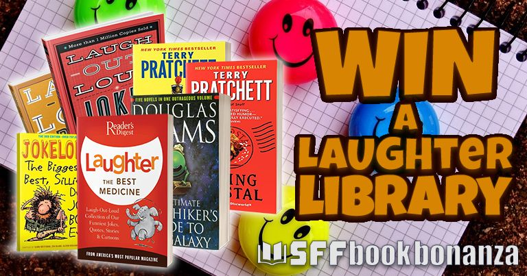 Win A Laughter Library Library Giveaways Books New Releases Book Giveaways