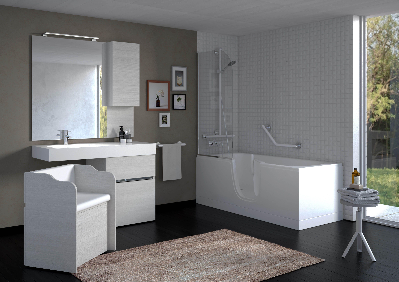 Nuovo concept di arredo bagno, frutto di una ricerca per