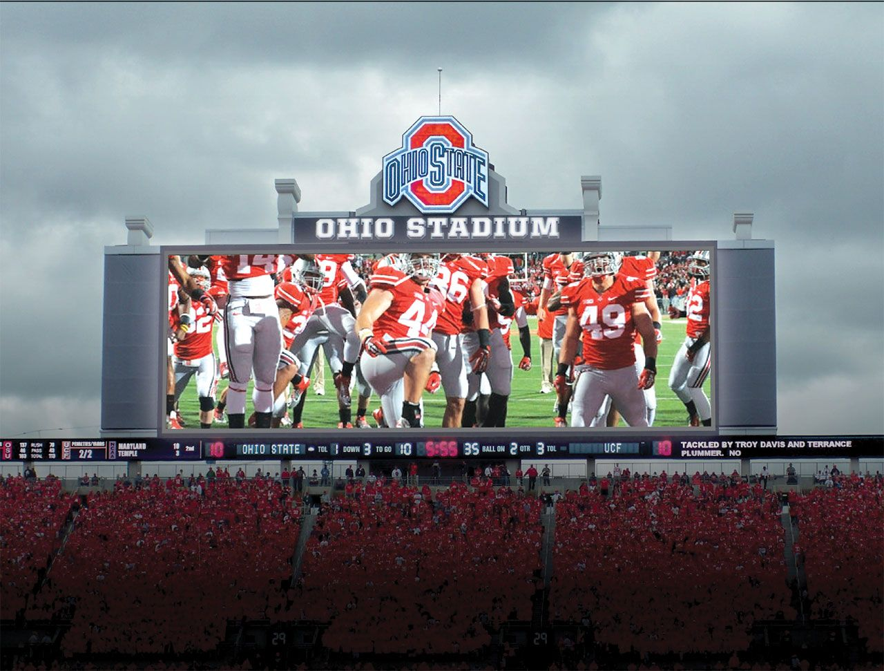 Image Result For Ohio Stadium Scoreboard Ohio Stadium Ohio Ohio State