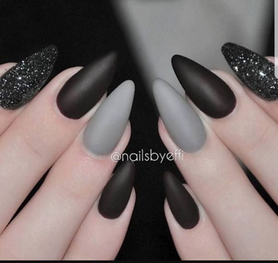 Pin von Krisztina sallai auf Almond nails | Pinterest | Nageldesign ...