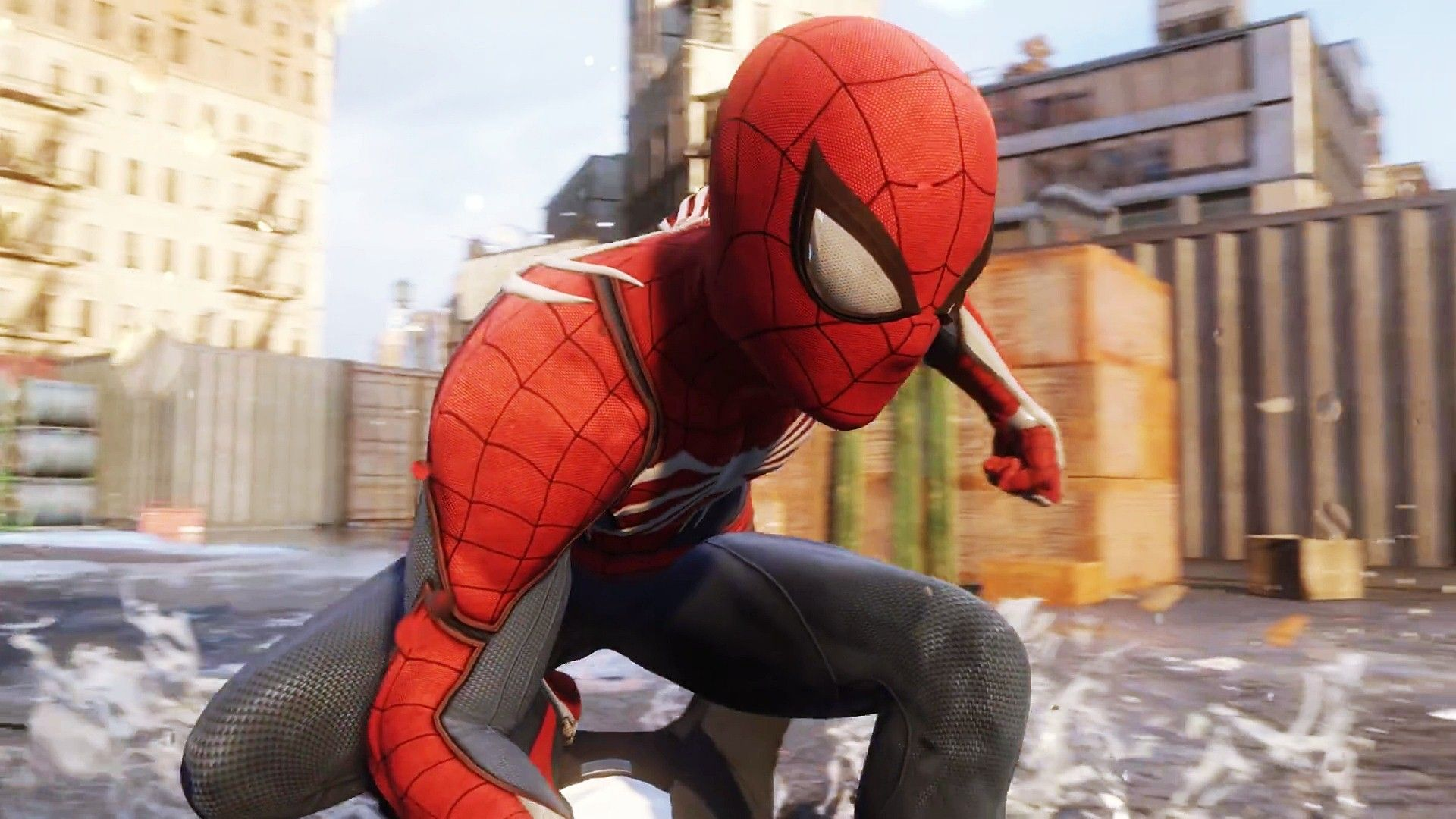 Spider Man Ps4 Hd Wallpapers Spiderman Ps4 Wallpaper Images