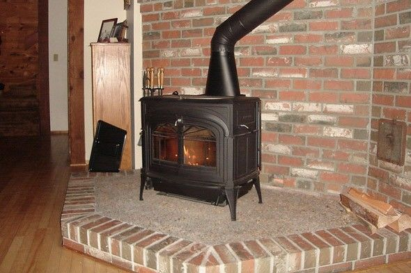How To Install A Wood Stove Chimney Wood Stove Chimney Wood