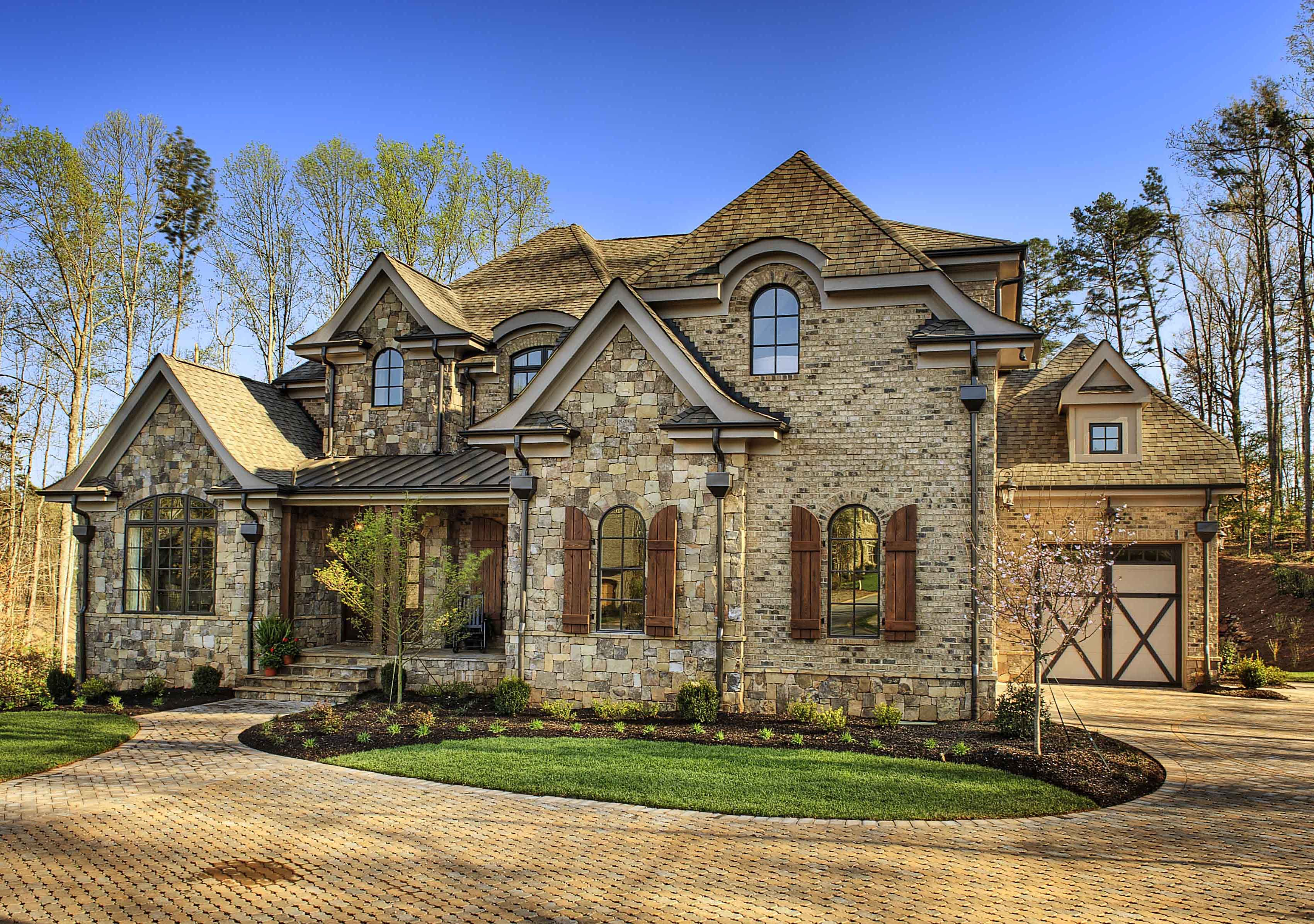 Plan 15794GE: Exquisite Master Down European Manor