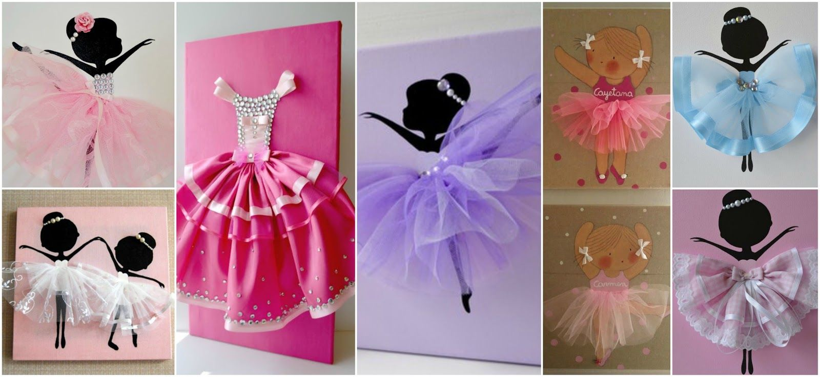 21 Cuadros decorativos para habitaciones de niñas | cuadritos nena ...