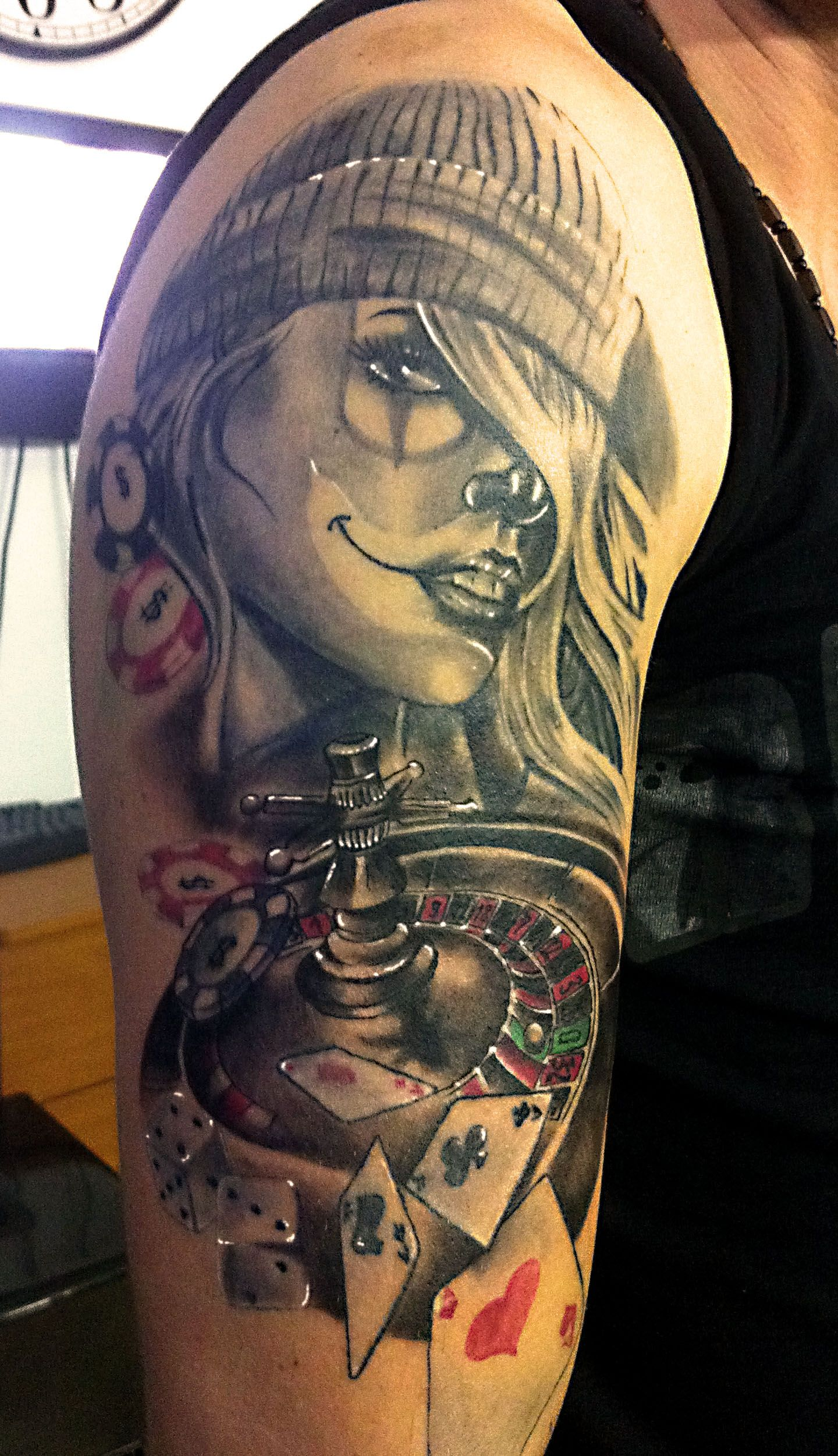 Roullette tattoo