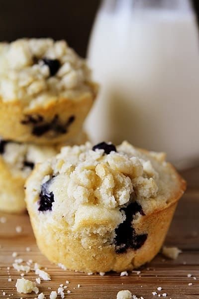 These are the BEST Blueberry Muffins you will ever have. Better than a bakery!