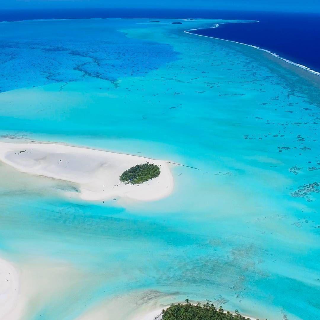 Cook Islands Beaches: The Kite Island Of Aitutaki. #aitutaki #cookislands