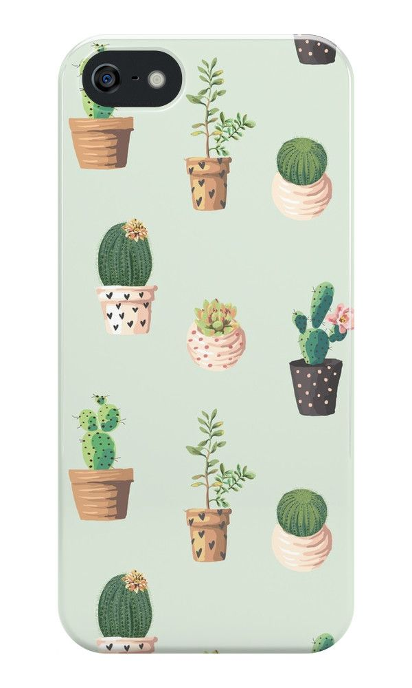 Cactus Pattern iPhone Case & Cover