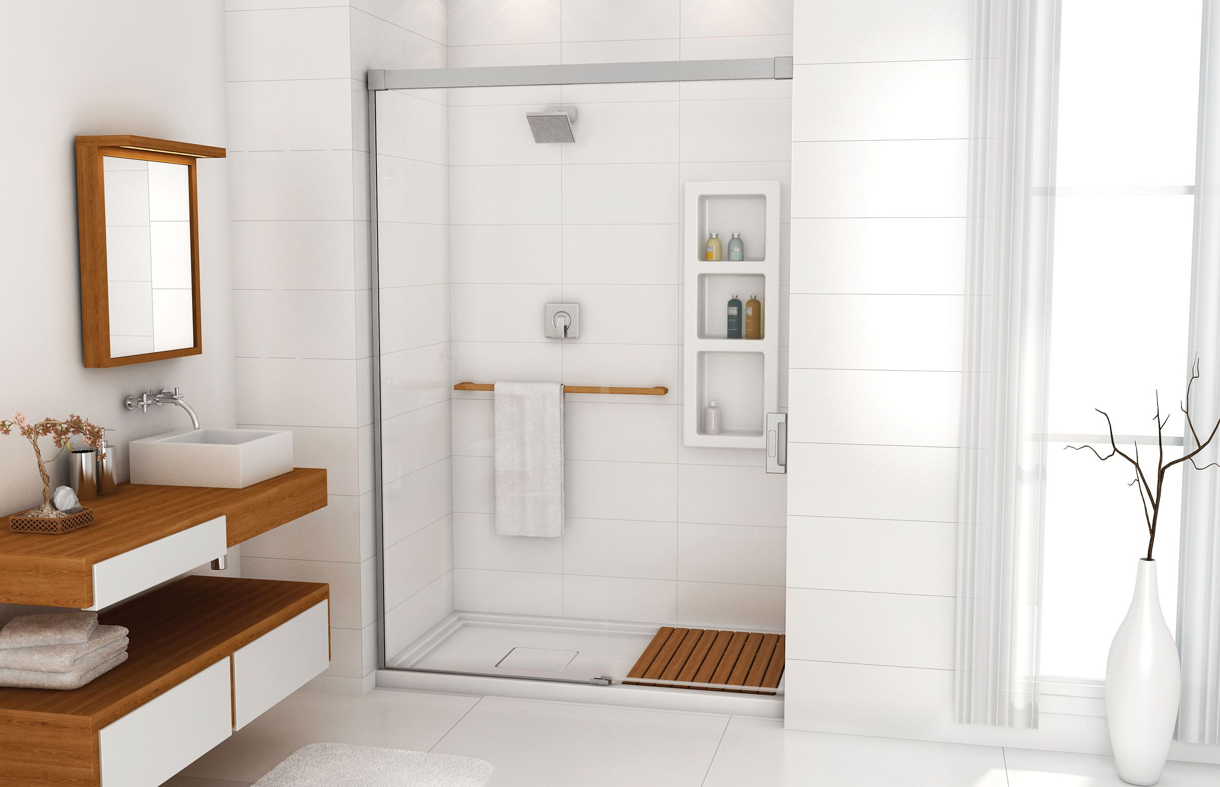Evidence 6034 A Glass Enclosures Or Alcove Shower  Advanta