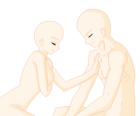 009 Couple Base By Pixel Dolls On Deviantart Drawing Base Anime Poses Reference Art Reference Poses