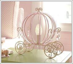 Lámpara con diseño de Carroza de Cenicienta — Habitaciones Tematicas