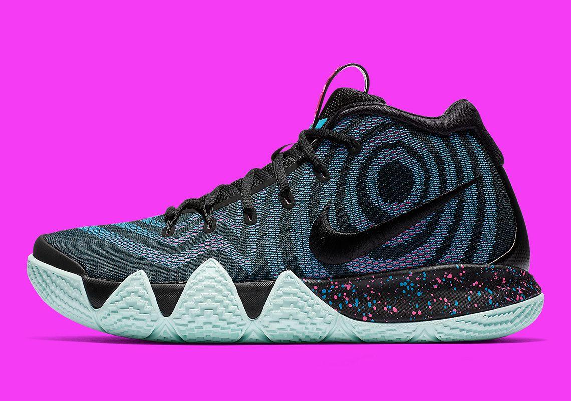 innovative design d04ce c2b99 Nike Kyrie 4 Black Laser Fuchsia 943806-007   SneakerNews.com