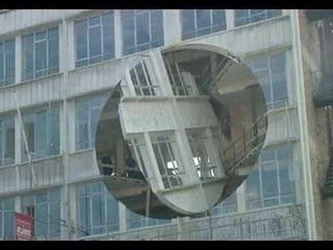 """Anarchitecture Lives!    Richard Wilson - """"Turning the Place Over""""    http://bldgblog.blogspot.com/2007/06/rotating-liverpool.html"""