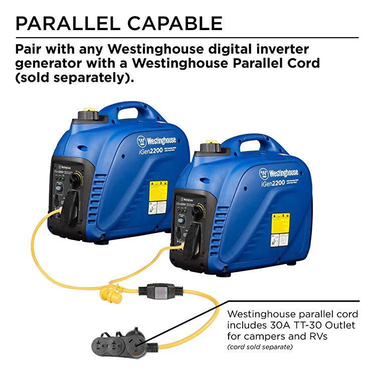 Westinghouse Portable Inverter Generator For Rvs And Campers