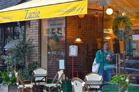 Zazie, San Francisco, CA | Dog Friendly Restaurants SF
